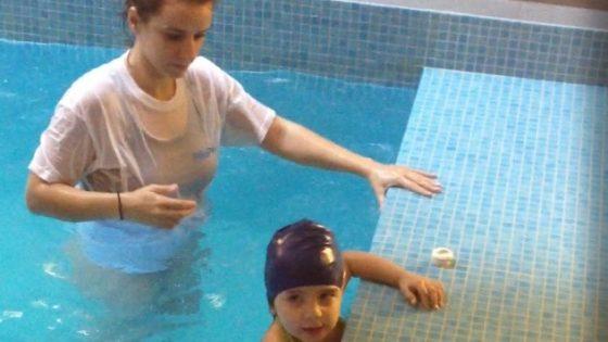 ασκήσεις αυτοπροστασίας - baby swimming